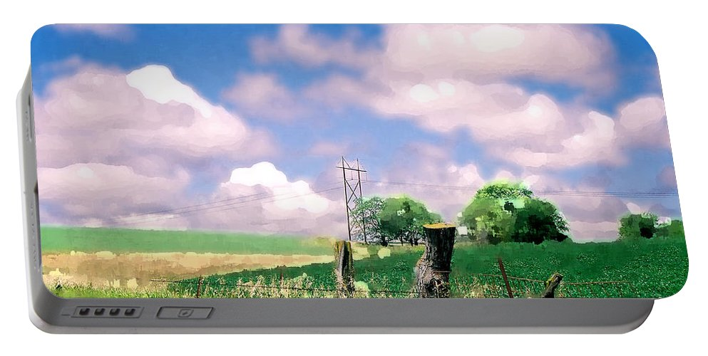 Landscape Portable Battery Charger featuring the photograph Off The Grid by Steve Karol