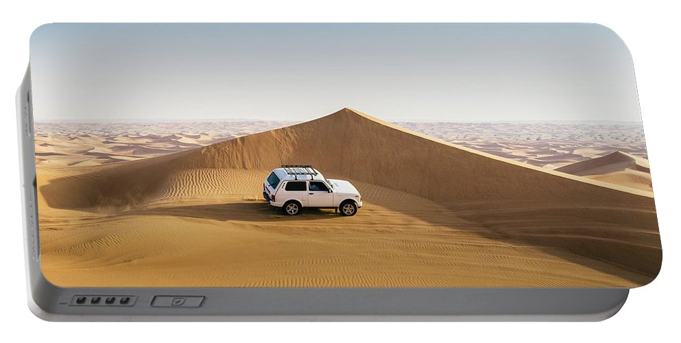 4x4 Portable Battery Charger featuring the photograph Offroading In The United Arab Emirates by Alexandre Rotenberg