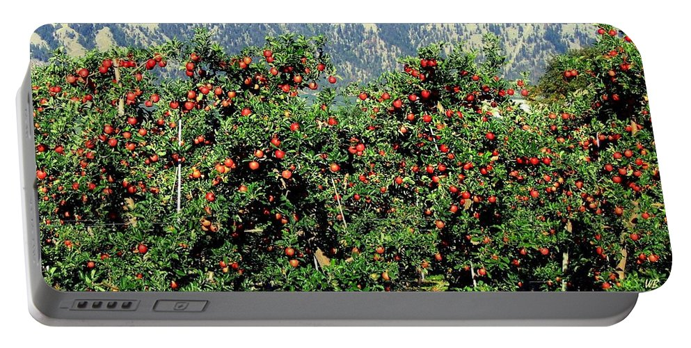 Apples Portable Battery Charger featuring the photograph Okanagan Valley Apples by Will Borden