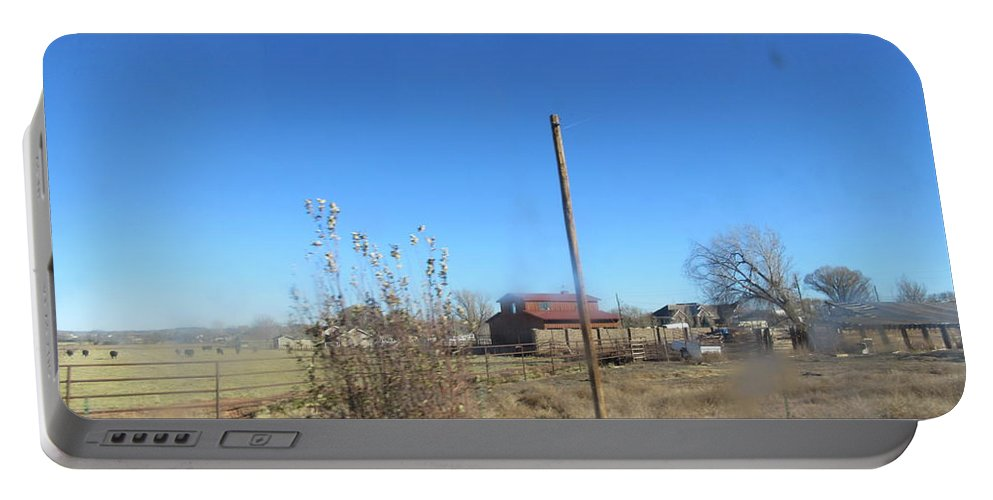 Old Portable Battery Charger featuring the photograph Old Barn by Frederick Holiday