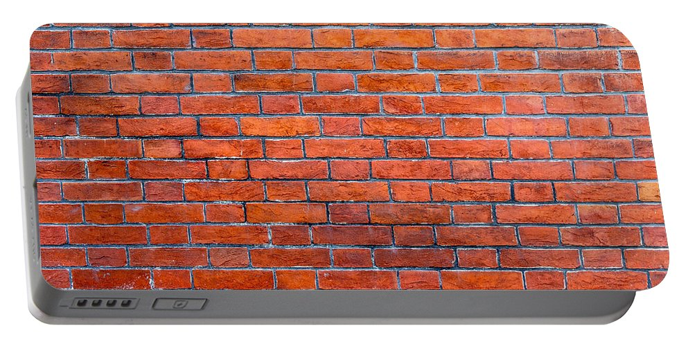 Steven Green Portable Battery Charger featuring the photograph Old Brick Wall by SR Green