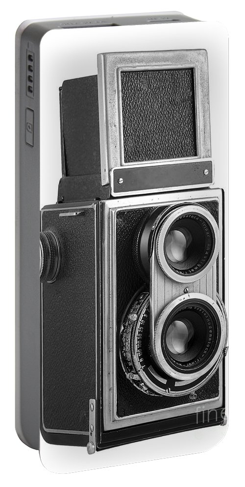 Camera Portable Battery Charger featuring the photograph Old Camera by Michal Boubin