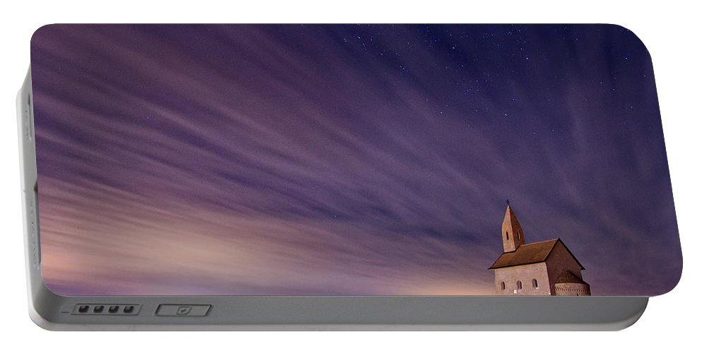 Church Portable Battery Charger featuring the photograph Old Church by Michal Candrak