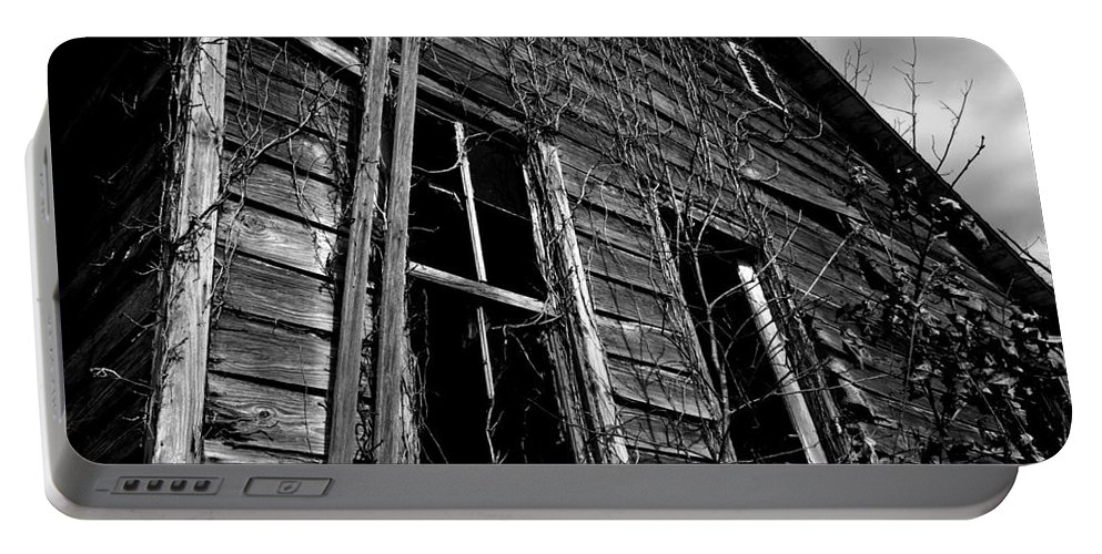 old House Portable Battery Charger featuring the photograph Old House by Amanda Barcon