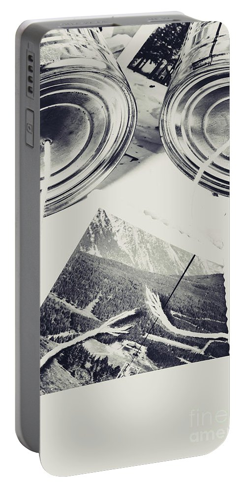 Disconnected Portable Battery Charger featuring the photograph Old Line Of Failure by Jorgo Photography - Wall Art Gallery