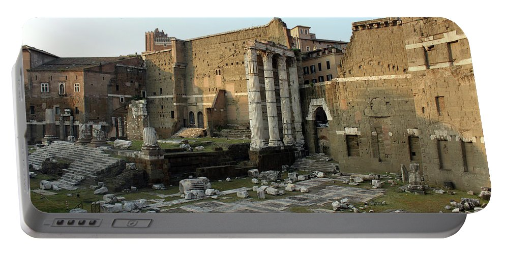 Rome Portable Battery Charger featuring the photograph Old Rome by Munir Alawi