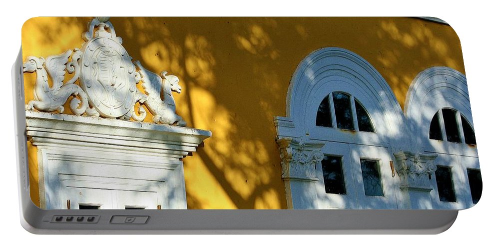 Old San Juan Portable Battery Charger featuring the photograph Old San Juan # 5 by Mark Goodrich