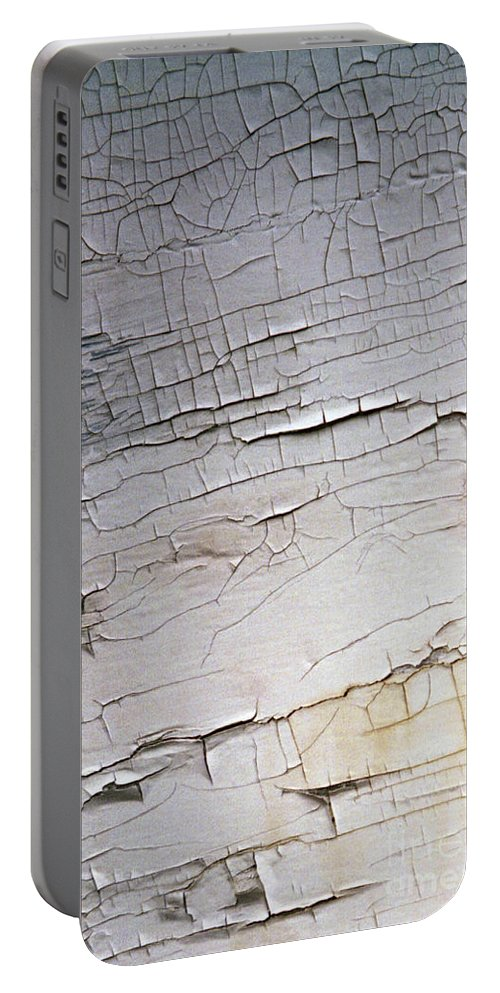 Paint Portable Battery Charger featuring the photograph Old Siding by Richard Rizzo