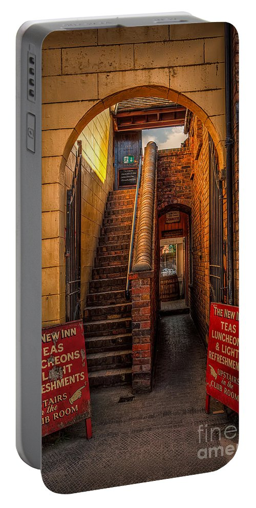 Victorian Portable Battery Charger featuring the photograph Old Signs by Adrian Evans
