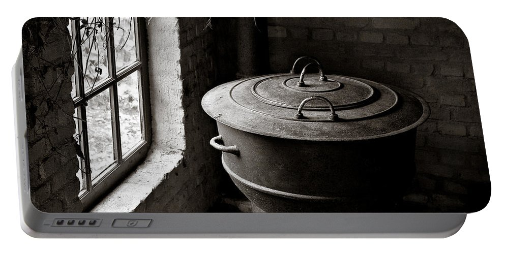 Old Portable Battery Charger featuring the photograph Old Stove by Dave Bowman