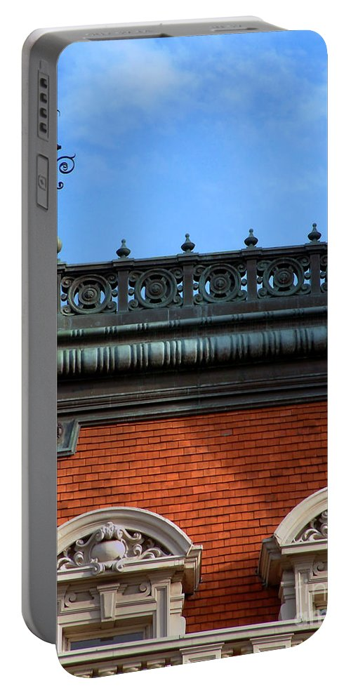 Apartment Portable Battery Charger featuring the photograph On a Clear Day by RC DeWinter