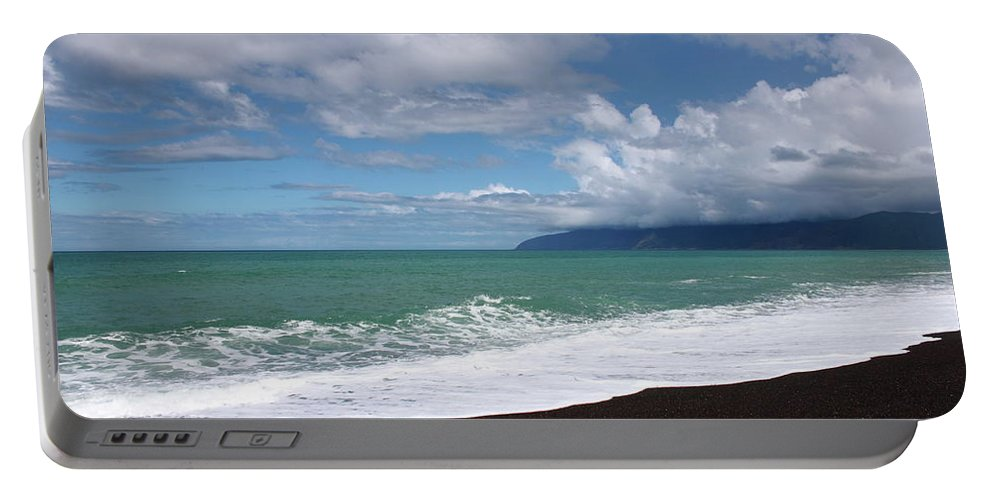Lake Ferry Portable Battery Charger featuring the photograph On The Shore Of Lake Ferry by Elayne Hand