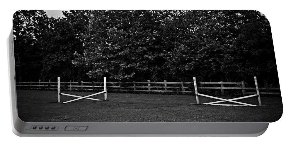 Fences Portable Battery Charger featuring the photograph Once Upon A Time by Hannah Breidenbach