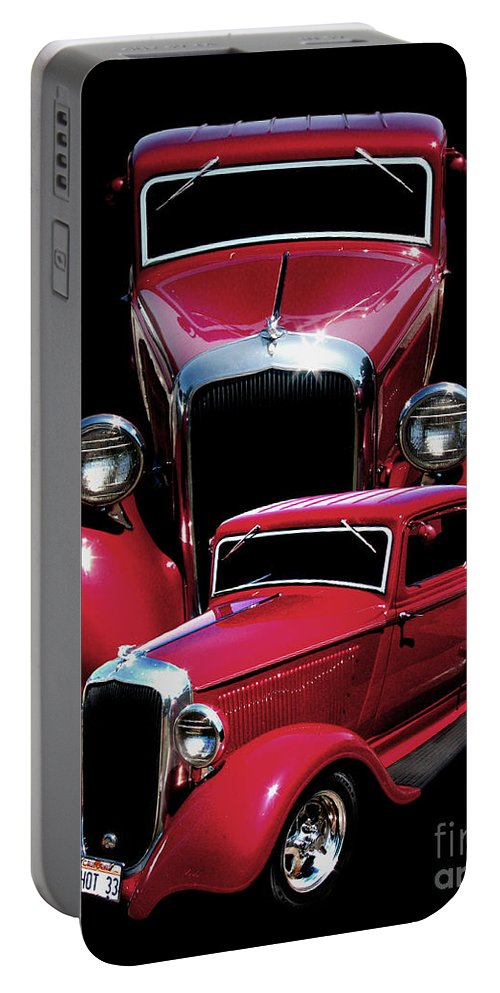 One Hot 33 Portable Battery Charger featuring the photograph One Hot 33 by Peter Piatt