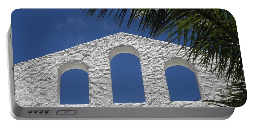 St. Maarten Portable Battery Charger featuring the photograph Open Air In St. Maarten by Neil Zimmerman