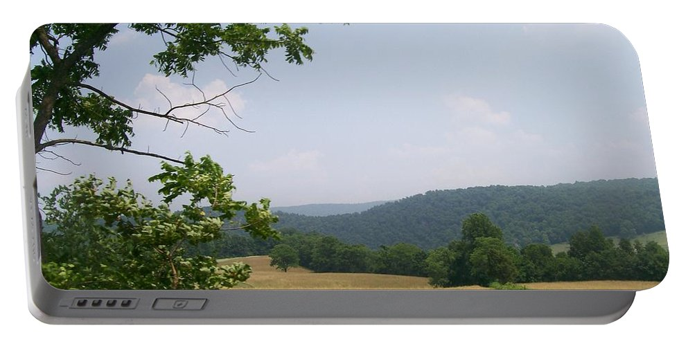 Pennsylvania Portable Battery Charger featuring the photograph Open Country by R Chambers