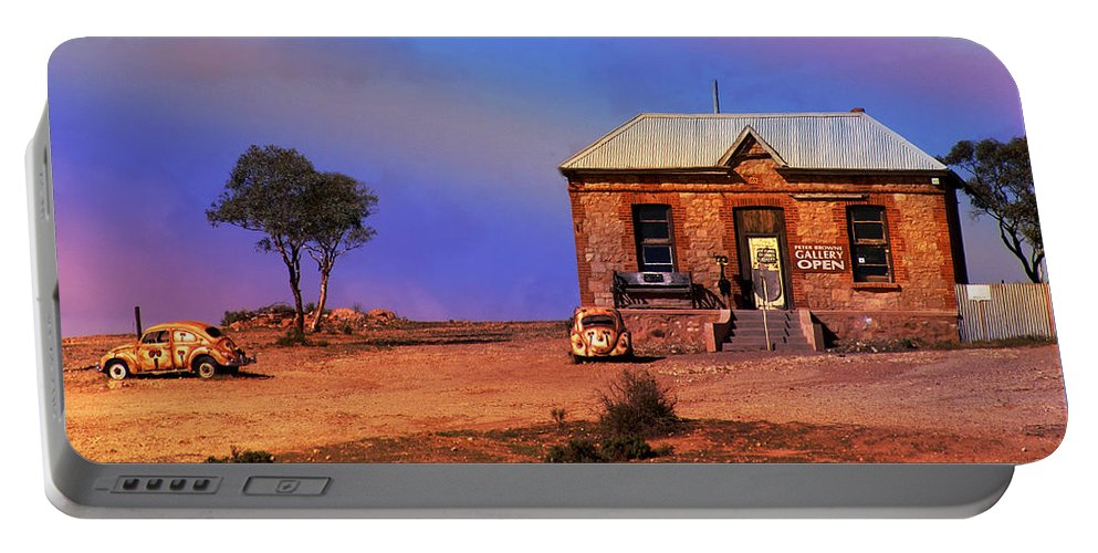 Landscape Portable Battery Charger featuring the photograph Open For Business by Holly Kempe