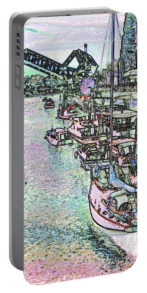 Seattle Portable Battery Charger featuring the photograph Opening Day Of Boating by Tim Allen