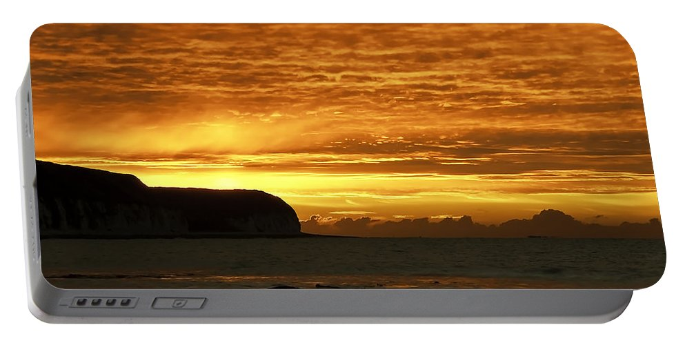Background Portable Battery Charger featuring the photograph Orange by Svetlana Sewell