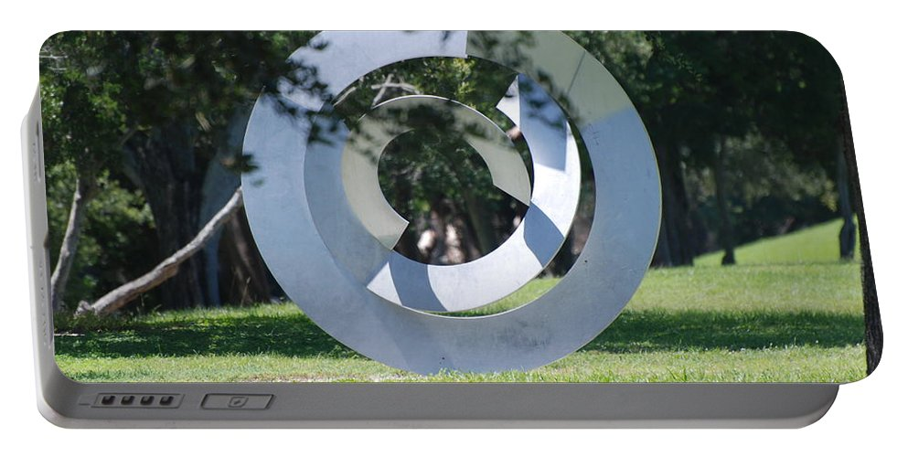 Landscape Portable Battery Charger featuring the photograph Orbs by Rob Hans