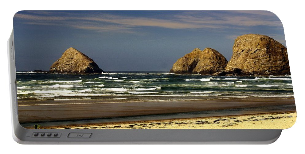 Portable Battery Charger featuring the photograph Oregon Coast 14 by Marty Koch