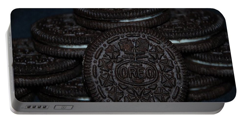 Oreo Portable Battery Charger featuring the photograph Oreo Cookies by Rob Hans