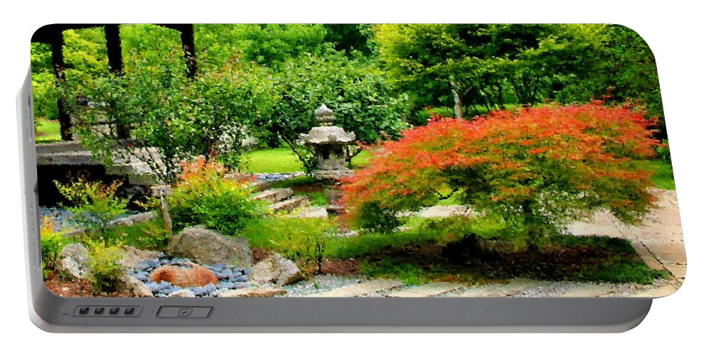 Oriental Portable Battery Charger featuring the photograph Oriental Scenic by Kristin Elmquist