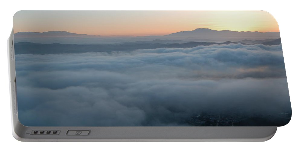 Ortega Highway Portable Battery Charger featuring the photograph Ortega Sunrise by Christine Owens