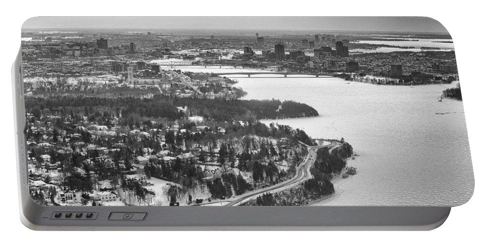 Ottawa Portable Battery Charger featuring the photograph Ottawa-gatineau by Eunice Gibb