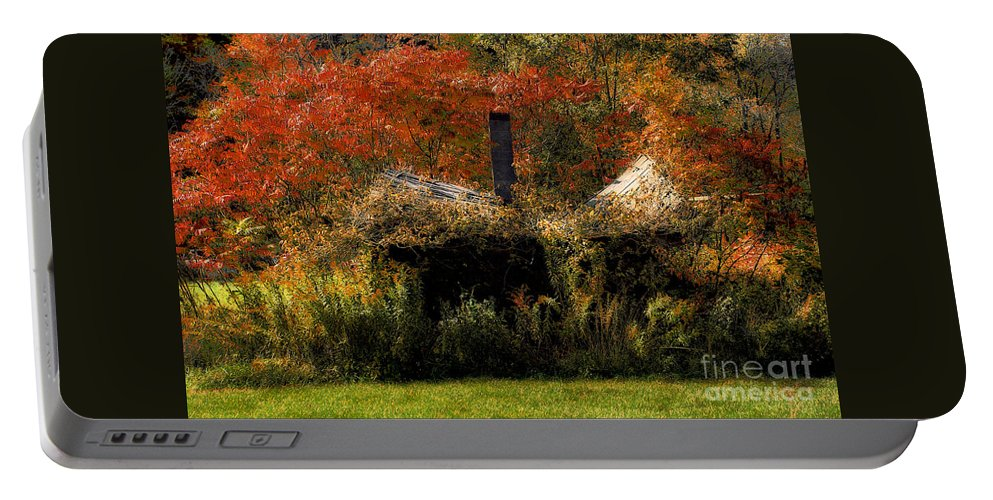House Portable Battery Charger featuring the photograph Ouch by Lois Bryan