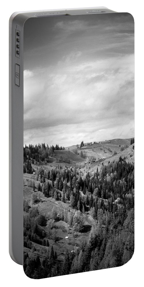Mount Portable Battery Charger featuring the photograph Mountains by FL collection