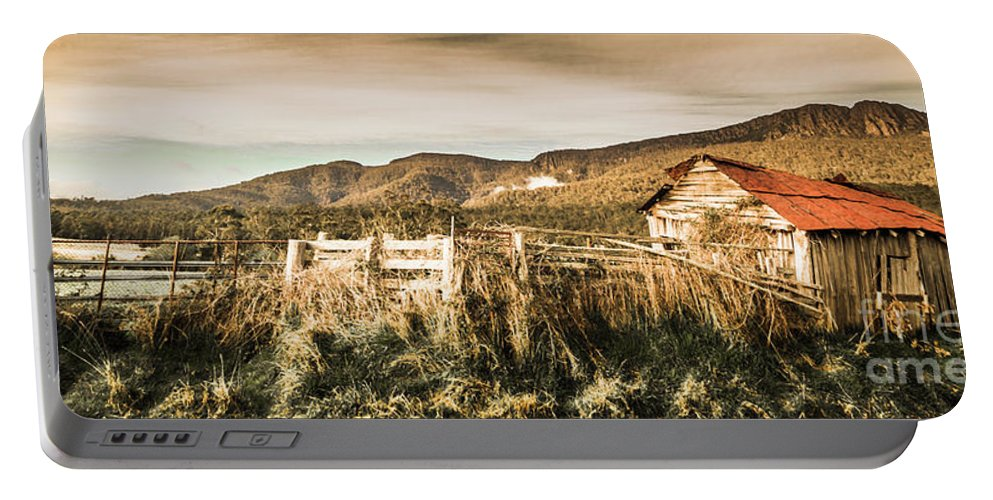 Australia Portable Battery Charger featuring the photograph Outback Obsolescence by Jorgo Photography - Wall Art Gallery