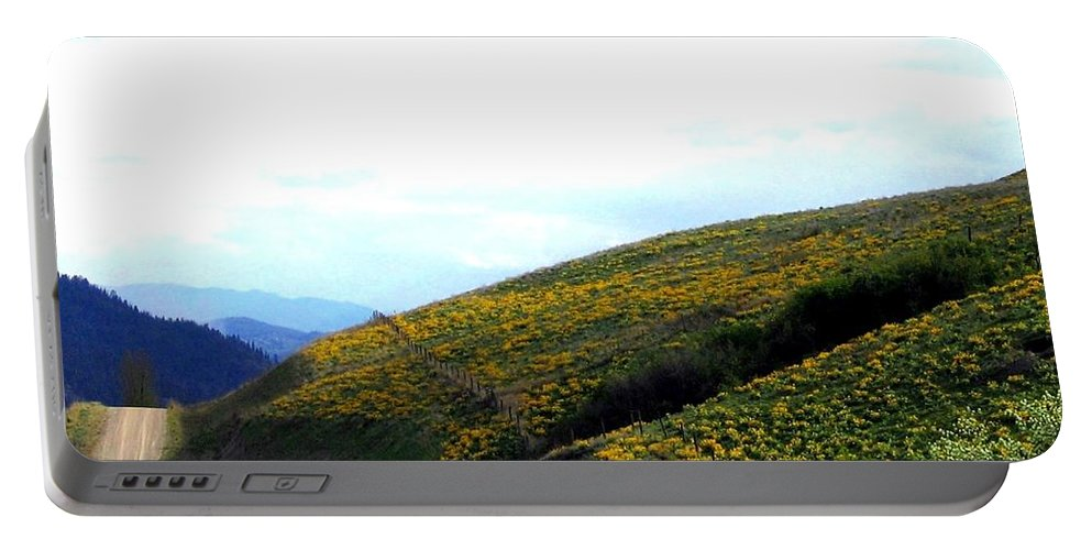 Hills Portable Battery Charger featuring the photograph Over Hill And Dale by Will Borden