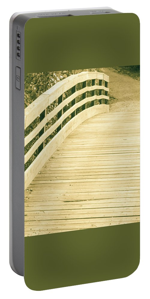Outdoor Portable Battery Charger featuring the photograph Over The Bridge by Lori Lynn Sadelack