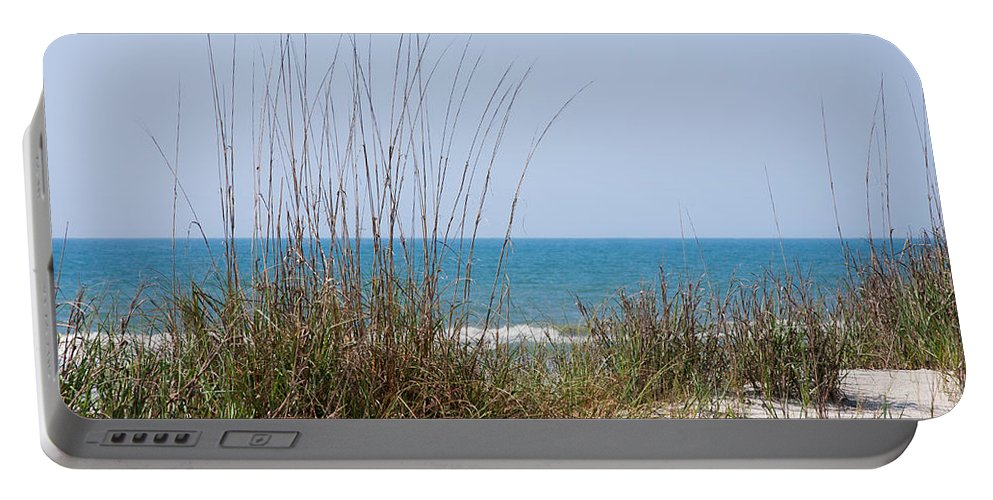 Beach Portable Battery Charger featuring the photograph Over The Dunes by Andrei Shliakhau