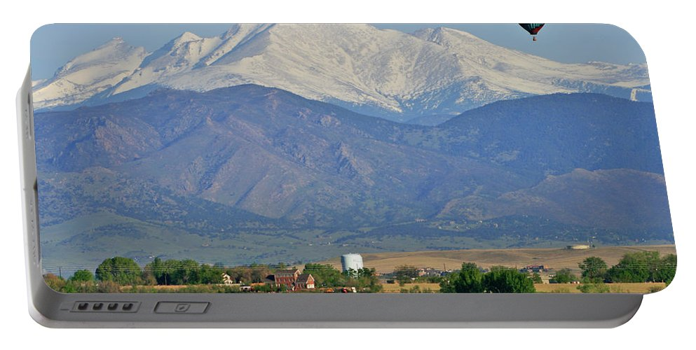 Mountains Portable Battery Charger featuring the photograph Over The Mountains by Scott Mahon
