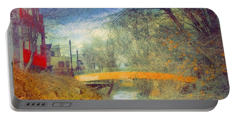 Bridge Portable Battery Charger featuring the photograph Overgrown by Tara Turner