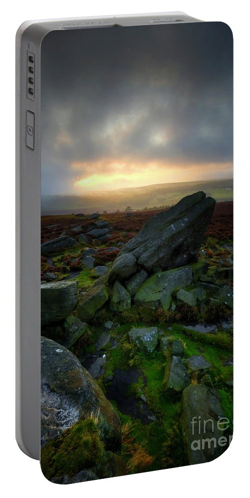 Yhun Suarez Portable Battery Charger featuring the photograph Owler Tor 11.0 by Yhun Suarez