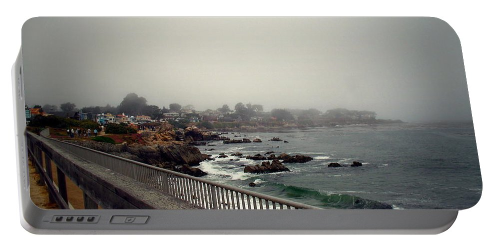 Pacific Grove Portable Battery Charger featuring the photograph Pacific Grove California Usa by Joyce Dickens