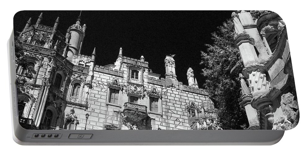 Monuments Portable Battery Charger featuring the photograph Palace Of Regaleira by Gaspar Avila