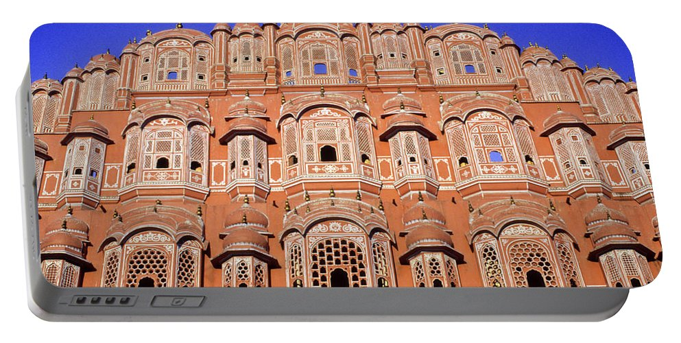 India Portable Battery Charger featuring the photograph Palace Of The Wind by Michele Burgess
