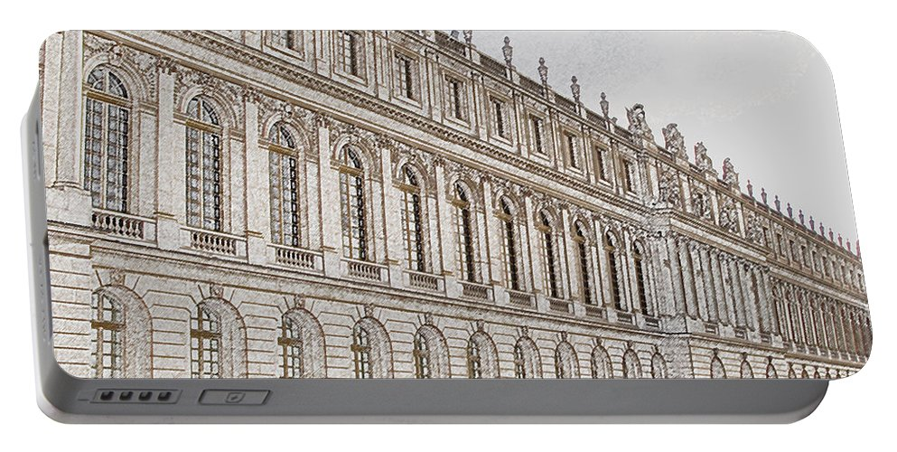 France Portable Battery Charger featuring the photograph Palace Of Versailles by Amanda Barcon