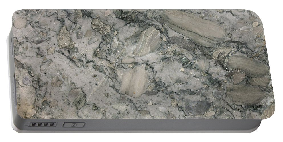 Granite Portable Battery Charger featuring the photograph Palazzo granite by Anthony Totah