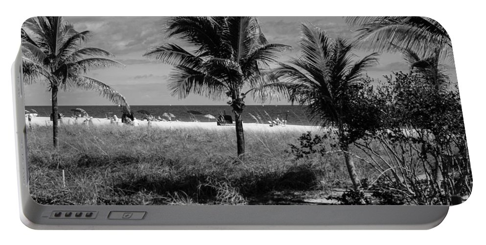 Portable Battery Charger featuring the photograph Palm Beach Road Trip by Susan Molnar