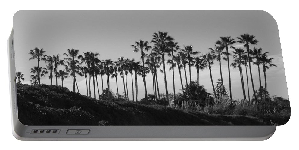 Landscapes Portable Battery Charger featuring the photograph Palms by Shari Chavira