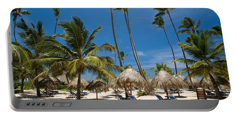Beach Portable Battery Charger featuring the photograph Paradise Beach by Sebastian Musial