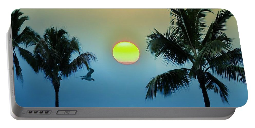 Island Portable Battery Charger featuring the photograph Paradise by Bill Cannon