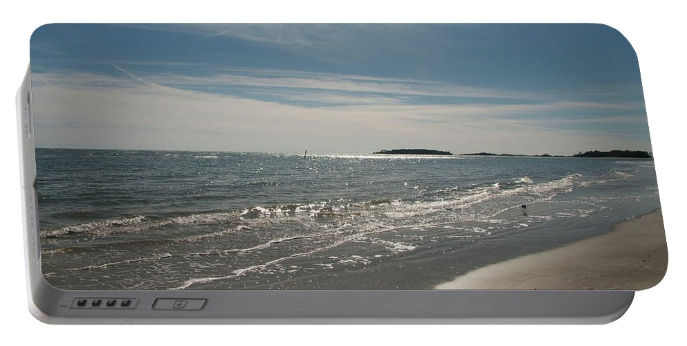 Landscape Portable Battery Charger featuring the photograph Paradise by Deanna Paull