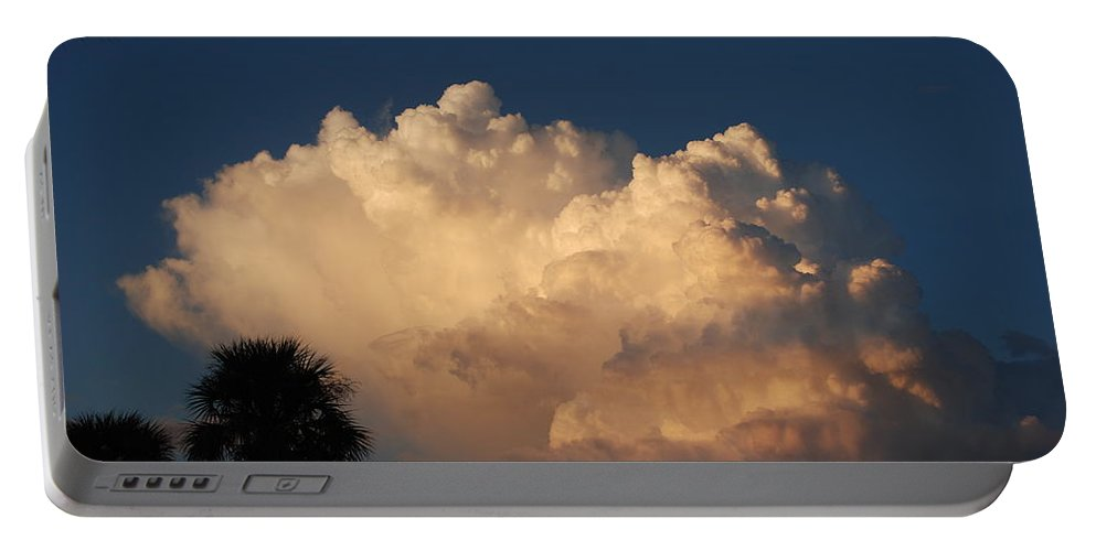 Clouds Portable Battery Charger featuring the photograph Paradise by Rob Hans
