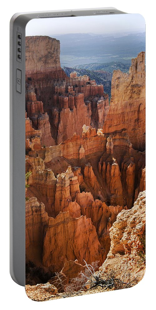 Paria View Portable Battery Charger featuring the photograph Paria View by Yefim Bam
